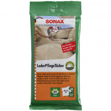 Drėgnos servetėlės odiniams paviršiams SONAX