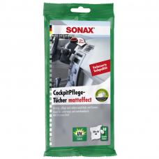 Drėgnos servetėlės plastikui SONAX