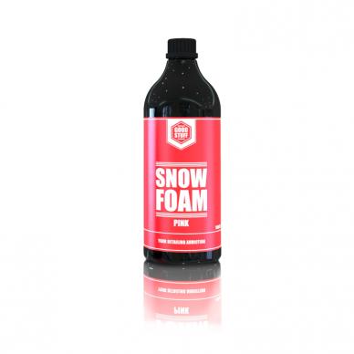Aktyvios putos rožinės spalvos Snow Foam PINK Good Stuff