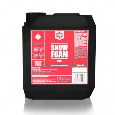 Aktyvios putos rožinės spalvos Snow Foam PINK Good Stuff 3
