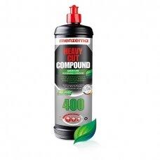 Heavy Cut Compound 400 GREEN LINE vieno žingsnio poliravimo pasta Menzerna 1 kg