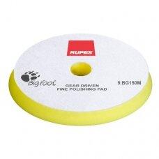 Poliravimo kempinė švelni geltona 150mm RUPES MILLE