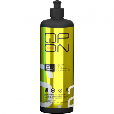 Poliravimo pasta fine QP-ON 6.2 500ml