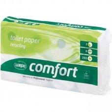 Tualetinis popierius 2 sluoksniai 8 rul Comfort Wepa 30m