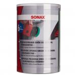 Vidutinio kietumo poliravimo padas 80mm 6vnt SONAX