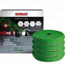 Vidutinio kietumo poliravimo padas DA, 85MM SONAX