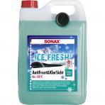 """Žieminis langų apiplovimo skystis paruoštas naudojimui """"Ice Fresh""""C-20°C SONAX 5l"""