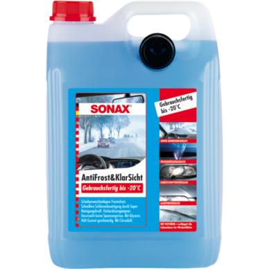 Žieminis langų plovimo skystis Sonax -20°C 5l